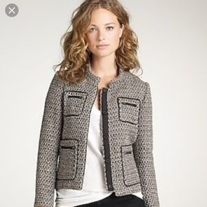 J Crew Gilded tweed blazer Style 31846 wool blend